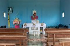 Inside Boca da Valeria Church