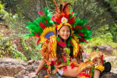 Young girl in Traditional Costume
