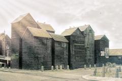 Fisherman's Huts, Hastings