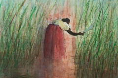 The Sugarcane Gatherer - 2009 - acrylic on canvas