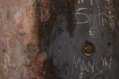 New Graffiti on Prison Wall