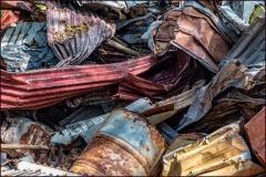 Corrugated Trash