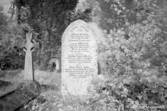 White Grave Stone
