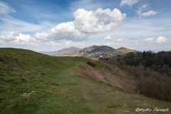 The Malvern Hills on a Spring Morning