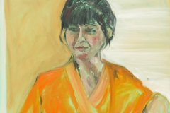 Woman in a Kimono - oil on canvas