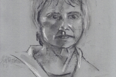 Helen - 2005 - charcoal & chalk on paper SOLD